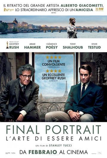 Final Portrait – L'Arte di essere Amici