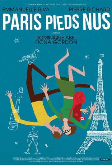 Parigi a Piedi Nudi – causa mal tempo la proiezione del film è stata annullata